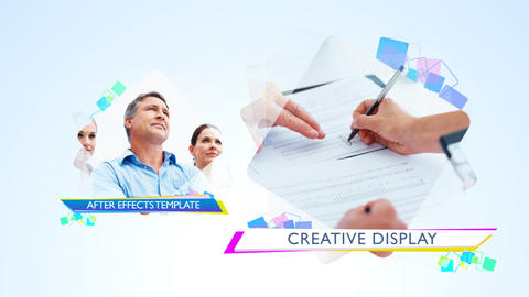 Creative Display - After Effects Template After Effectsテンプレート