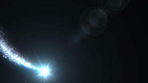 Light Streaks And Particles 0