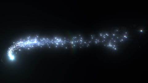 Light Streaks And Particles 2