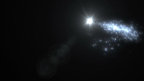 Light streaks and particles Ar 1b 2 HD Animation