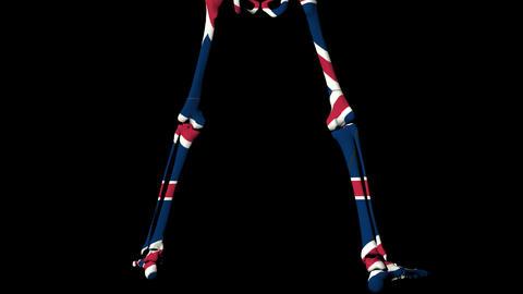 Dead Flag UK Stock Video Footage