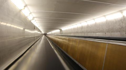 Escalator 3 Footage