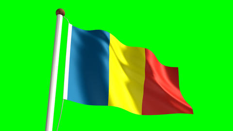 Chad flag Animation
