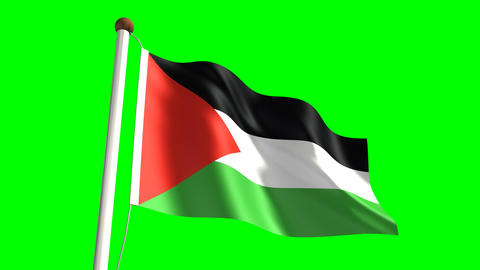 Palestine flag Animation