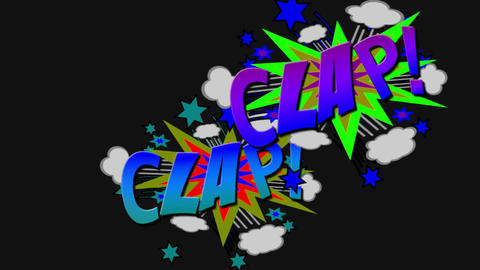 Clap 2358 Stock Video Footage