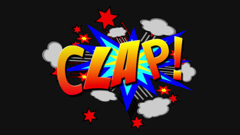 Clap 2375 Stock Video Footage