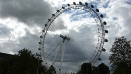 LONDON EYE 14 Stock Video Footage