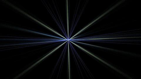 Blue Gray Star Shining on Black Stock Video Footage