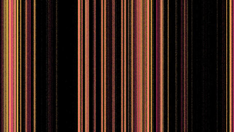 Vertical Magenta Orange Lines on Black Footage