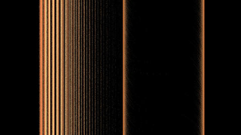 Vertical Orange Gold Lines On Black stock footage