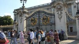 Ceremonial Australia Gate at Buckingham Palace, Lo Footage