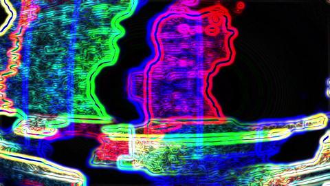 TV Noise 0611 HD-NTSC-PAL Stock Video Footage