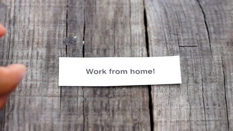 Work from home Footage