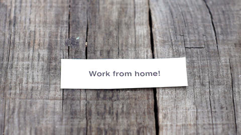 Work from home Stock Video Footage
