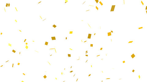 Confetti 003 stock footage