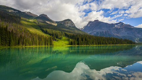 Emerald Lake, Time Lapse Footage
