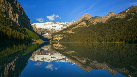 Lake Louise, Time Lapse Stock Video Footage