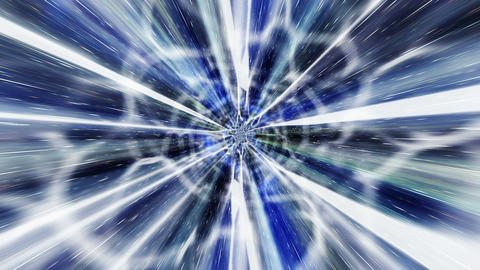 Star Warp 08 Stock Video Footage