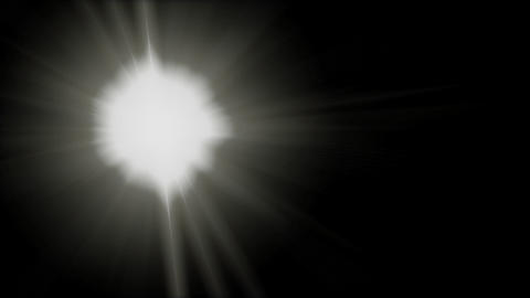 Lens flare B Animation