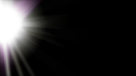 Lens flare B Stock Video Footage