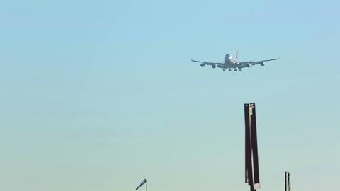 Landing Footage