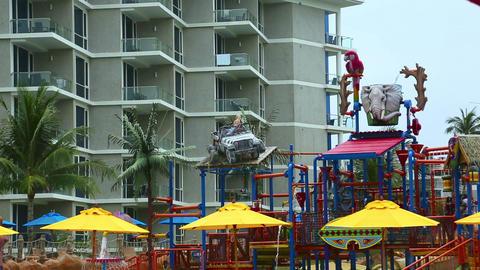 Aquapark Stock Video Footage