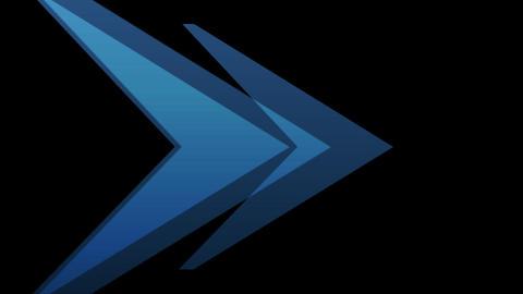 Arrow Transition Stock Video Footage