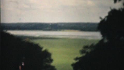 George Washington Home In Mount Vernon 1940 Vintag Stock Video Footage