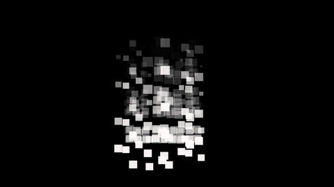 Square random w M Stock Video Footage