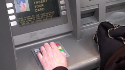 ATM Machine Stock Video Footage