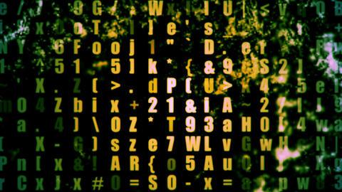 Data Storm 0304 HD-NTSC-PAL Stock Video Footage