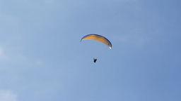PARAGLIDER AT THE SKY Footage