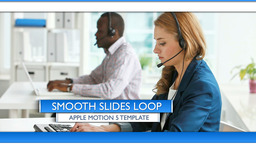 Smooth Slides Loop - Apple Motion and Final Cut Pro X Template Apple Motion Project