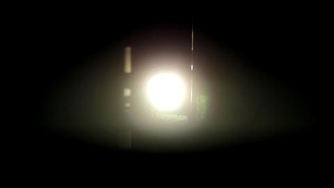 flickering light film projector Stock Video Footage