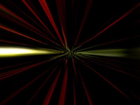 Glowing Light Beams #2 Stock Video Footage
