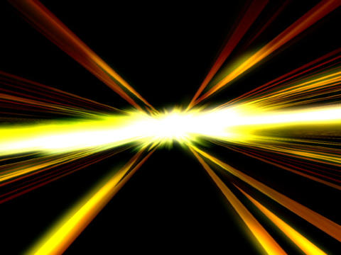 Glowing Light Beams #2 Animation