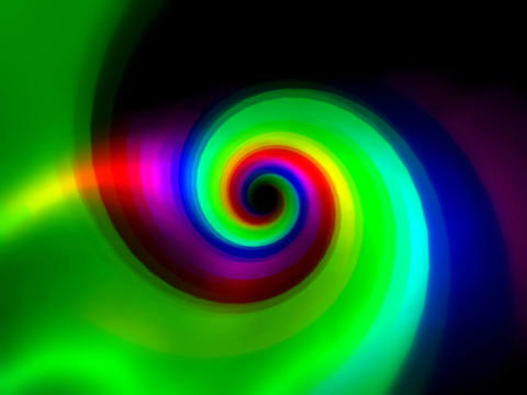 Rainbow Vortex #1 Stock Video Footage