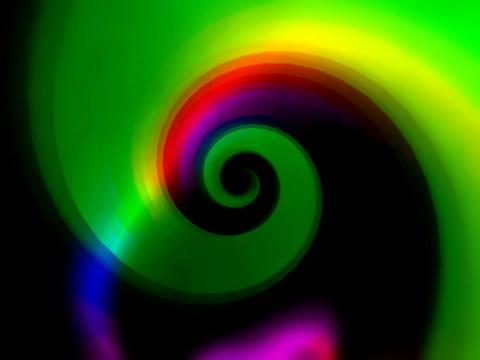 Rainbow Vortex #1 Animation