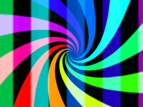 Rainbow Vortex #3 Stock Video Footage