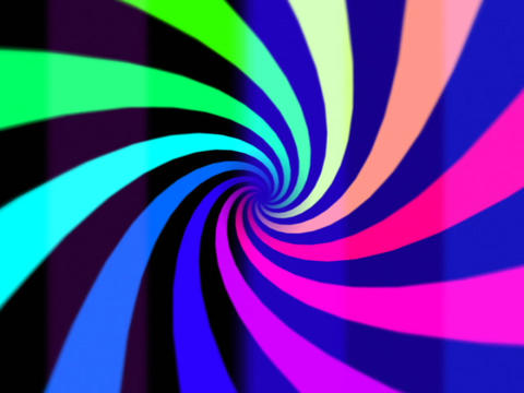 Rainbow Vortex #3 Stock Video Footage