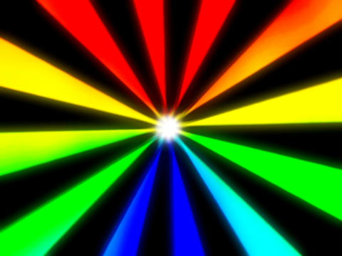 Spectrum Sunburst #1 Stock Video Footage