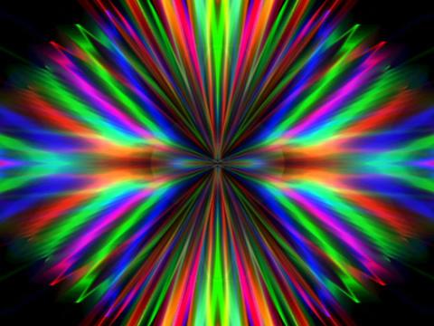 RGB Symmetry #2 Stock Video Footage