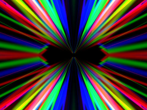 RGB Symmetry #4 Stock Video Footage
