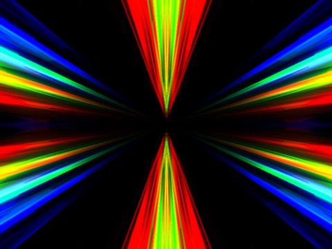 RGB Symmetry #4 Stock Video Footage