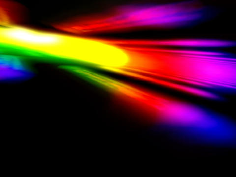 Colorful Flashing Space #1 Animation