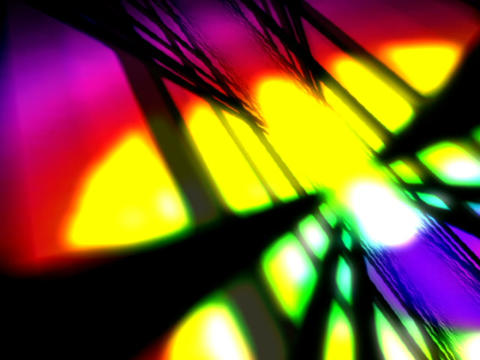 Colorful Flashing Space #3 Stock Video Footage
