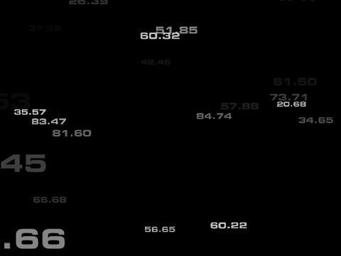 Random Numbers #1 Stock Video Footage