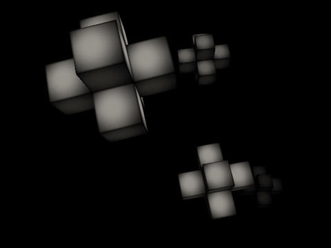 Floating Cubes #4 Animation