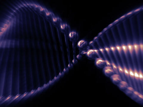 Double Helix #2 Stock Video Footage