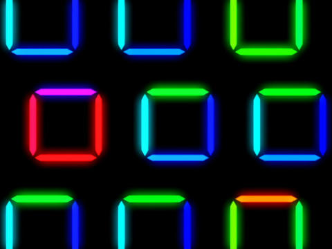 Colorful Square Pattern #1 Animation